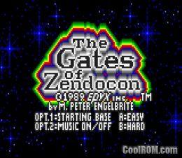 Gates of Zendocon ROM Download for Atari Lynx - CoolROM com