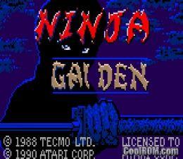 Ninja Gaiden ROM Download for Atari Lynx - CoolROM com