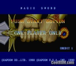 magic sword rom