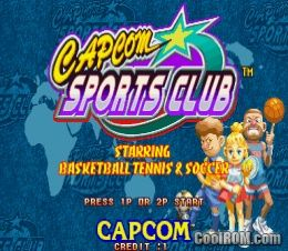 Capcom Sports Club ROM Download for CPS2 - CoolROM com