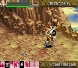 Dungeons & Dragons - Shadow Over Mystara ROM Download for