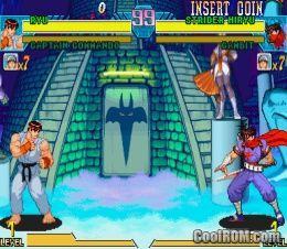 Marvel vs  Capcom - Clash of Super Heroes ROM Download for