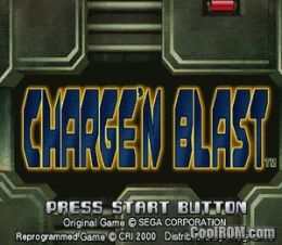 Charge 'N Blast ROM (ISO) Download for Sega Dreamcast