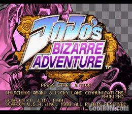 Jojo's Bizarre Adventure ROM (ISO) Download for Sega
