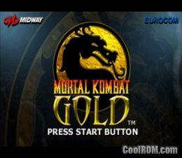 Mortal Kombat Gold Rom Iso Download For Sega Dreamcast Coolrom Com