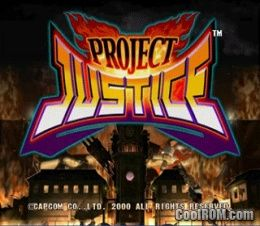 Project Justice ROM (ISO) Download for Sega Dreamcast - CoolROM com