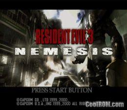 Resident Evil 3 - Nemesis ROM (ISO) Download for Sega Dreamcast