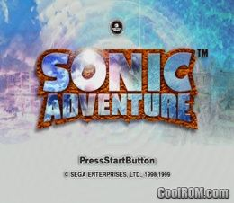 Sonic Adventure ROM (ISO) Download for Sega Dreamcast - CoolROM com