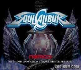 Soul Calibur ROM (ISO) Download for Sega Dreamcast - CoolROM com