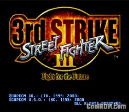 Street Fighter III - Third Strike ROM (ISO) Download for
