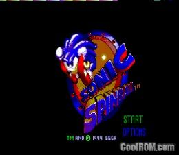 Sonic Spinball Rom Download For Sega Game Gear Coolrom Com