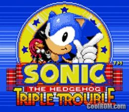 Sonic The Hedgehog Triple Trouble Rom Download For Sega Game