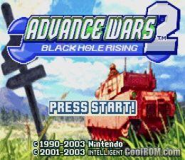 advance wars 2 gba rom