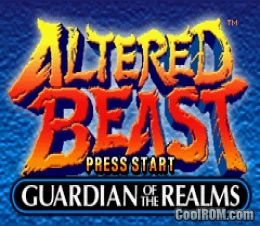 Altered Beast - Guardian of the Realms ROM Download for Gameboy Advance / GBA - CoolROM.com
