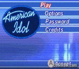 American Idol ROM Download for Gameboy Advance / GBA - CoolROM.com