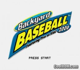 and rom download page for backyard baseball 2006 gameboy advance