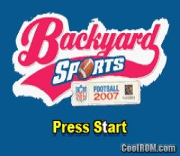 Backyard Football 2007 ROM Download for Gameboy Advance ...