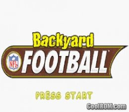 Backyard Football ROM Download for Gameboy Advance / GBA ...