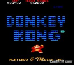 Classic nes donkey kong rom download for gameboy advance for Cool roms