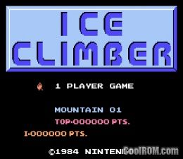 Classic nes ice climber rom download for gameboy advance for Cool roms