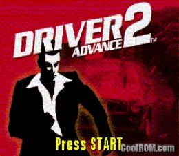 Driver 2 advance rom download for gameboy advance gba for Cool roms
