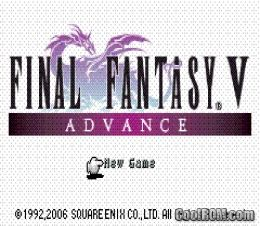 Fantasy v advance rom download for gameboy advance gba coolrom com