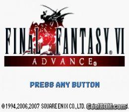 ROMs » Gameboy Advance » F » Final Fantasy VI Advance