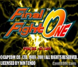 Final Fight - SNES ROM Free Download