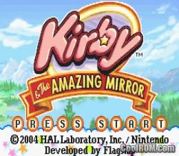 kirby and the amazing mirror rom