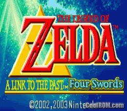 Legend of Zelda, The - A Link to the Past ROM Download for Gameboy
