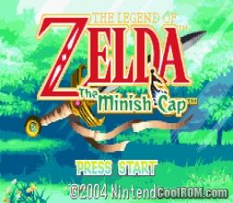 the legend of zelda minish cap rom