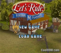 how to play lets ride friends forever