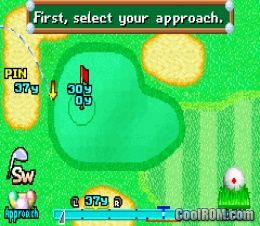 Mario Golf - Advance Tour ROM Download for Gameboy Advance