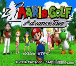 Mario Tennis - Power Tour ROM Download for Gameboy Advance / GBA