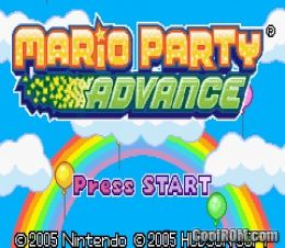 Mario party advance rom download for gameboy advance gba coolrom