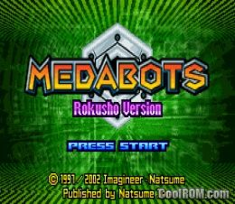 Medabots rpg rokusho version rom download for gameboy for Cool roms