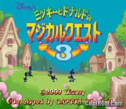 Mickey to Donald no Magical Quest 3 (Japan) ROM Download for