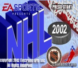 NHL 2002 ROM Download for Gameboy Advance / GBA - CoolROM.com