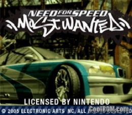 Need for Speed - Most Wanted ROM Download for Gameboy