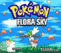 Pokemon Flora Sky (Hack) ROM Download for Gameboy Advance / GBA