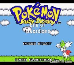 download rom gba pokemon ruby destiny