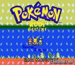Pokemon ruby gx download gba