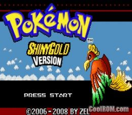 Pokemon Shiny Gold (Hack) ROM Download for Gameboy Advance ...