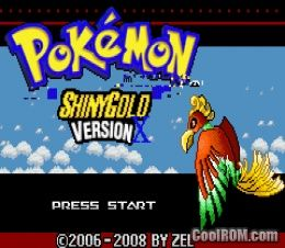 Pokemon Shiny Gold X Hack Rom Download For Gameboy