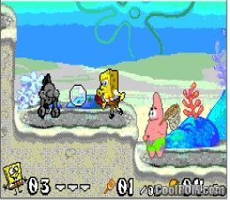 All not review gba battle for bikini bottom