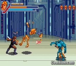 star wars episode iii - revenge of the sith rom download for gameboy advance / gba - coolrom