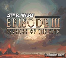 Star Wars Episode Iii Revenge Of The Sith Rom Download For Gameboy Advance Gba Coolrom Com