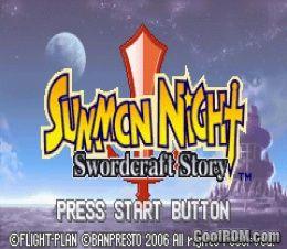 Summon night craft sword 3 english patch gba