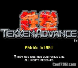 Tekken advance rom gameboy advance (gba) | emulator. Games.