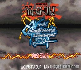 yu gi oh world championship tournament 2006 gba: